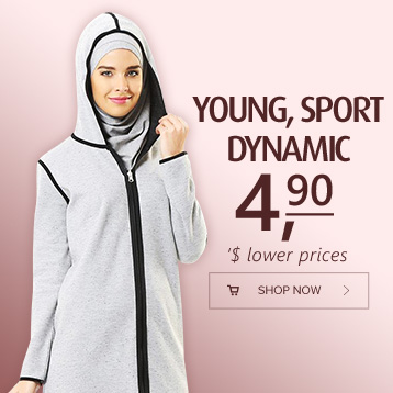 Young Sports Wear models