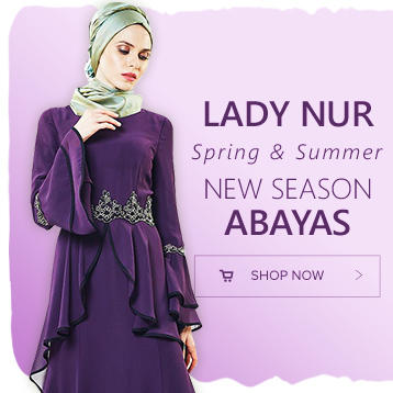lady nur new season abayas